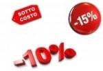 OFFERTE SPECIALI : -10% / -20% / - 50% / SOTTOCOSTO